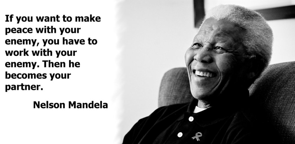Mandelas' quotes about Education, freedom, wisdom, peace .... (4/4)