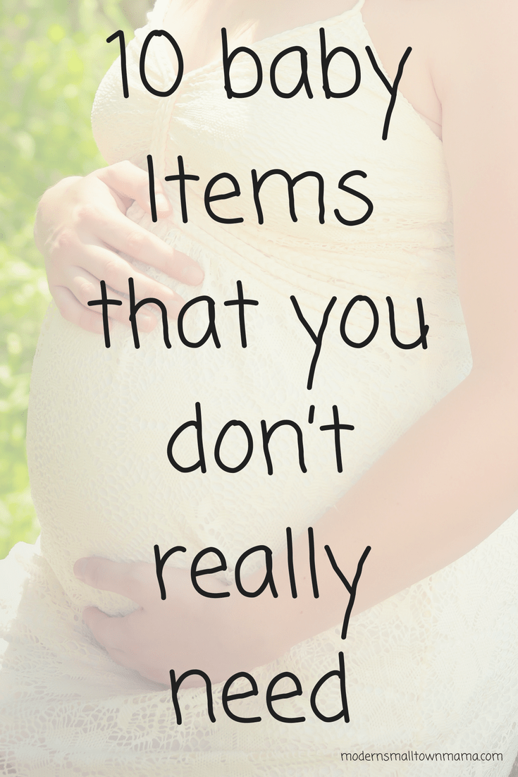 10 baby Items that you don't really need