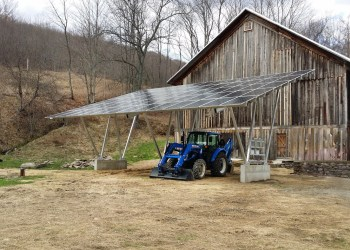 Modern Solar Carport