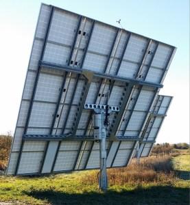 Modern Solar Dual Axis Tracker
