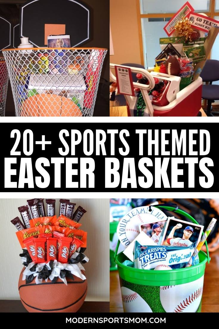 Fun Sports Easter Basket Ideas for boys and girls! #easterbaskets & Fun Sports Easter Basket Ideas for boys and girls!