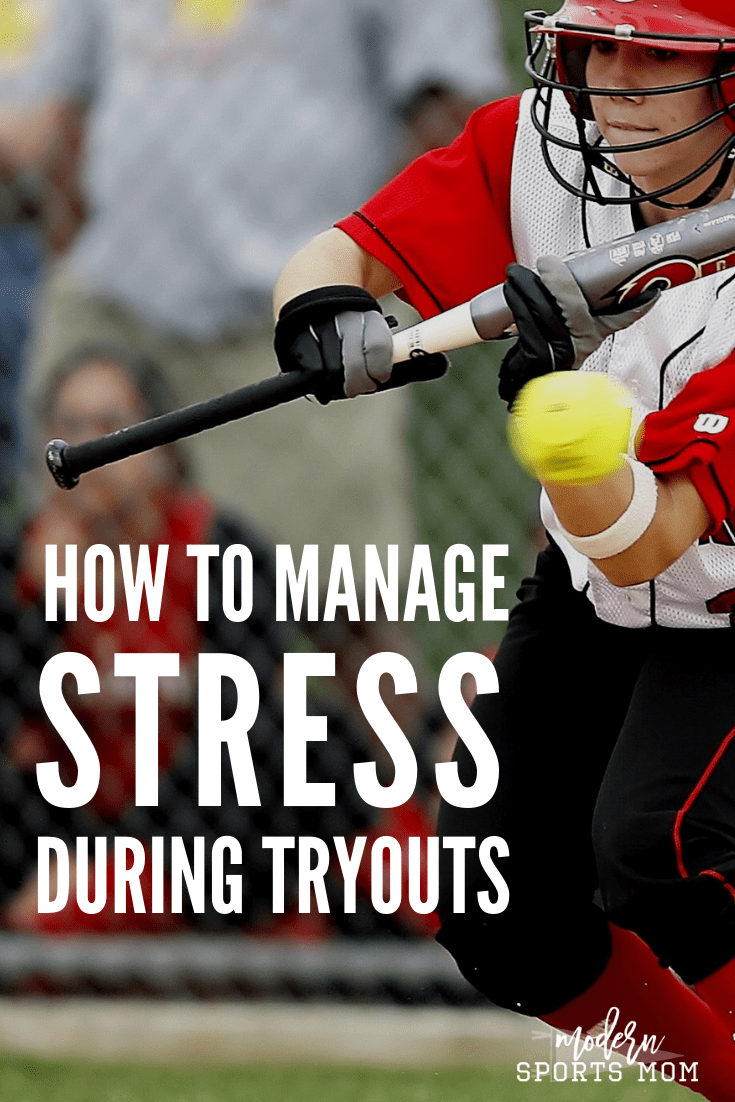 Baseball season is here, and that means tryouts! Managing stress is crucial. Kids will look to their parents for guidance, so it is equally as important that parents are able to manage their anxiety as well.