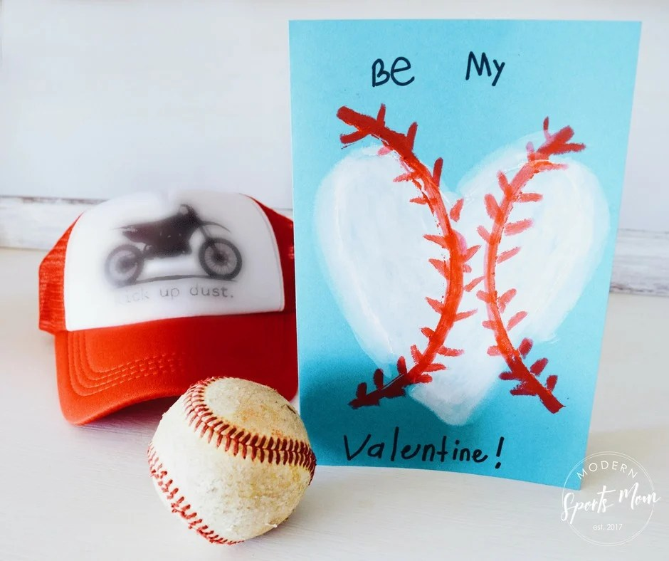 Baseball Valentines
