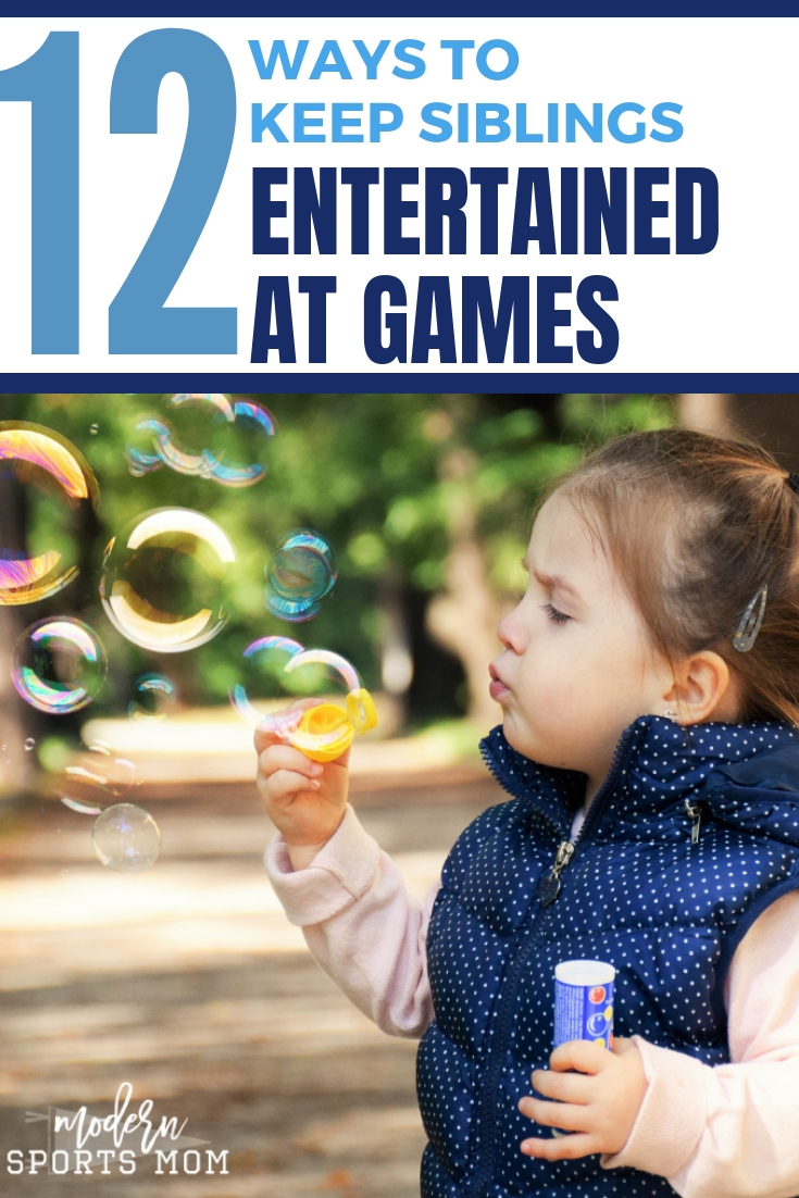 12 Ways to Keep Siblings Entertained at Games