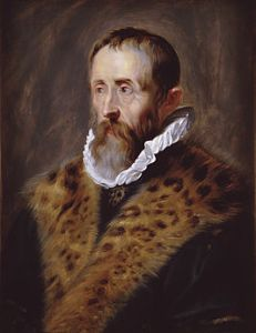 Justus Lipsius - 16th to 17th Century Philologist and Humanist - in his finery.