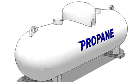 off grid living propane gas