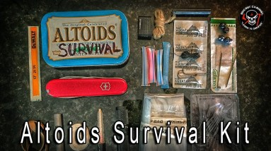 Altoids Surival Kit - Mini EDC Survival  Tools