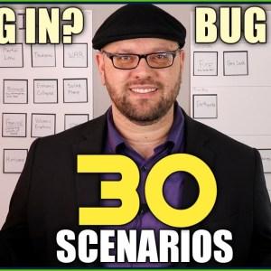 BUG IN or BUG OUT? 30 Emergency Scenarios