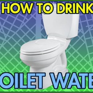 How To Drink TOILET WATER In An Emergency #Shorts
