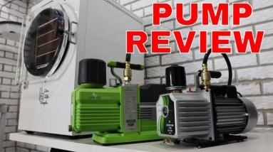 Harvestright Premier Vacuum Pump Review// Standard Vacuum Pump vs Premier Pump