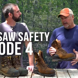 Chainsaw Safety | Boots | Episode 4 | Forest to Farm