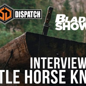 Battle Horse Knives at Blade Show 40