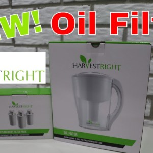 The NEW Harvestright Freeze Dryer Oil Filter!
