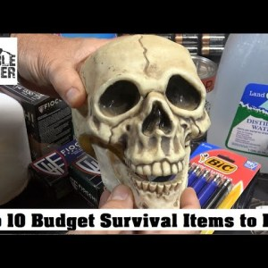 Top 10 Budget Survival Items to Buy Regularly