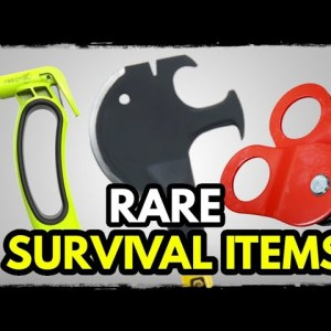 10 Rare Survival Items to Get While You Still Can