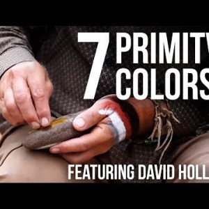 7 Primitive Colors with David Holladay | TJack Survival