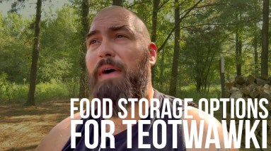 Alternative Food Storage for Preppers   Bear Independent