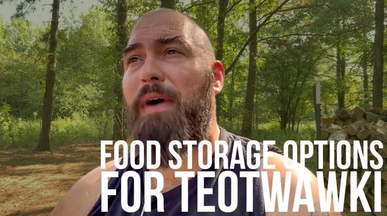 Alternative Food Storage for Preppers | Bear Independent