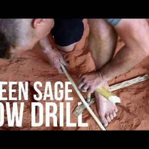 The Bow Drill: An Epic Saga with Green Sage After the Rain | TJack Survival