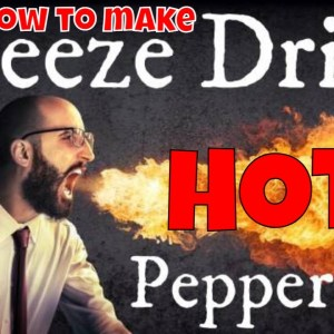 Making Freeze Dried HOT Peppers! -- Carolina Reapers, Jalapenos & Anaheim