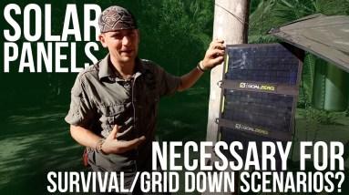 Solar Panels | TJack Survival