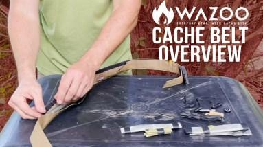 The Wazoo Survival Cache Belt | ON Three