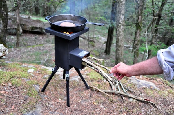Camping Fireplaces Portable Fireplace Ideas