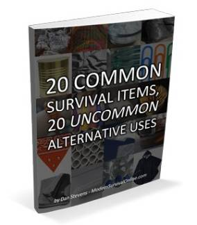 20 survival items ebook cover