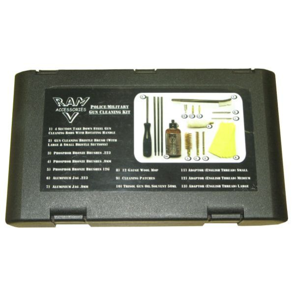 RAM POLICE MILITARY UNIVERSAL CLEANING KIT