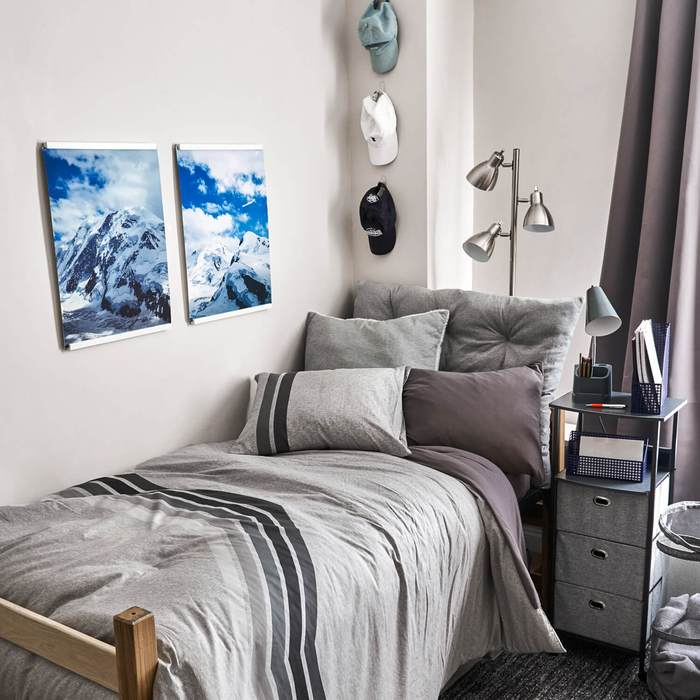 15 Cool College Dorm Room Ideas for Guys to Get ... on Bedroom Ideas For Guys  id=64085