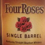 4 roses SB label close