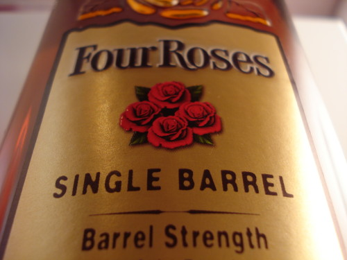 Four Roses Private Selection label up