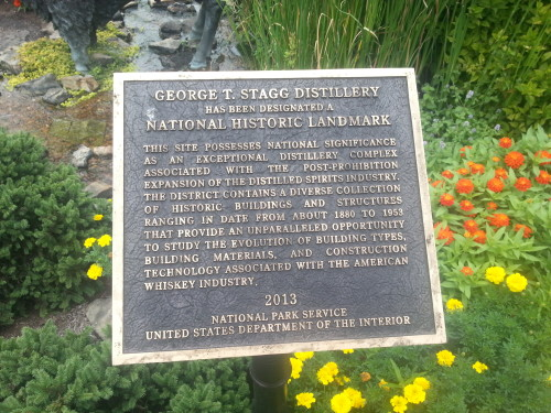 Buffalo Trace is a National Historic Landmark