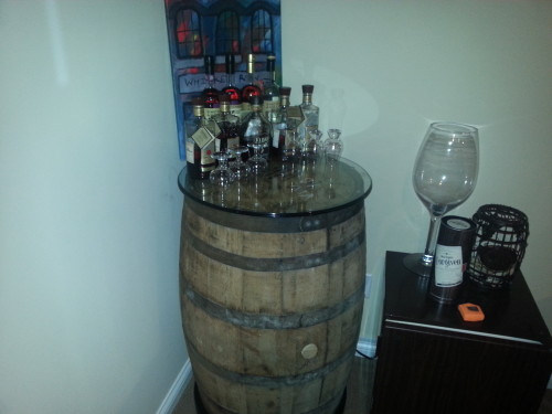 Barrel Table Photo