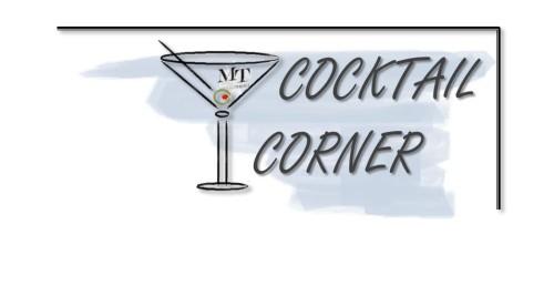 cocktail corner blue