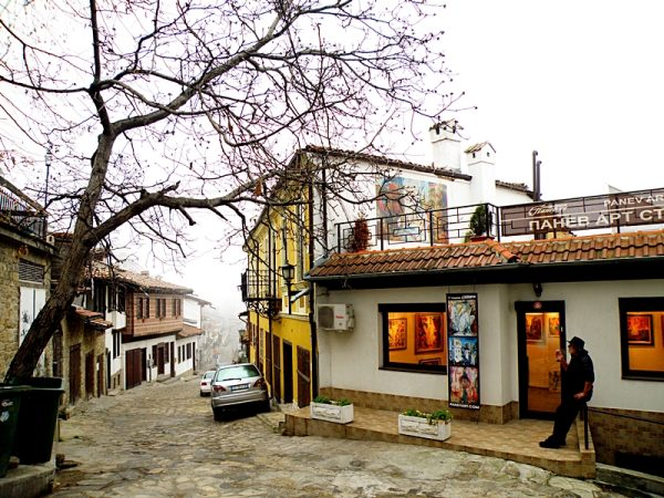 Samovodska Charshiya in Veliko Tarnovo, Bulgaria