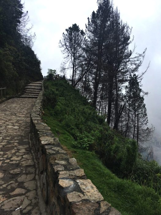 Montserrate Trail, Bogota, Colombia