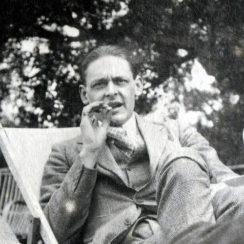 British poet T. S. Eliot