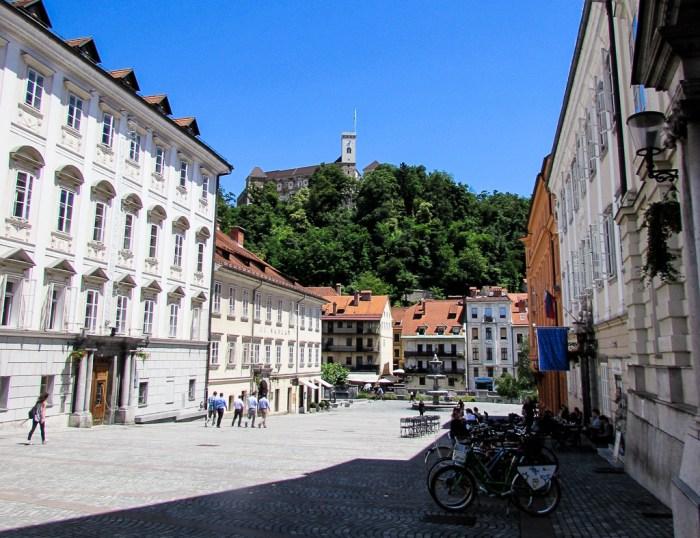 Ljubljana Castle Hill, Slovenia