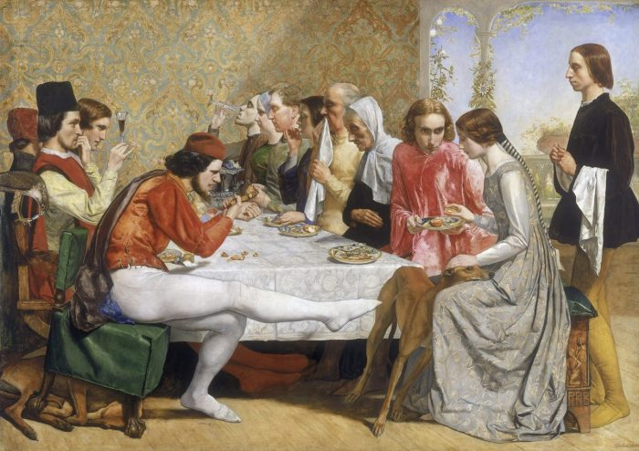 John Everett Millais: Isabella, 1848-49..