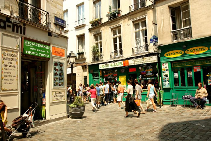 Jewish Quarter, Le Marais