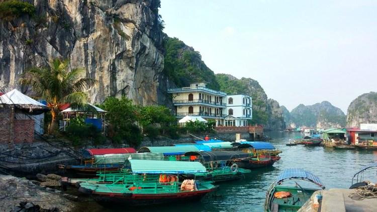 Near Halong Bay, Vietnam