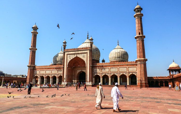 Delhi Jama Masjid, India