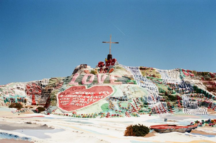 Salvation Mountain, Slab City, United States