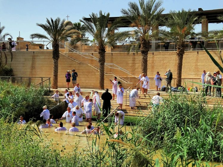 The Baptism Site of Jesus in the Jordan River