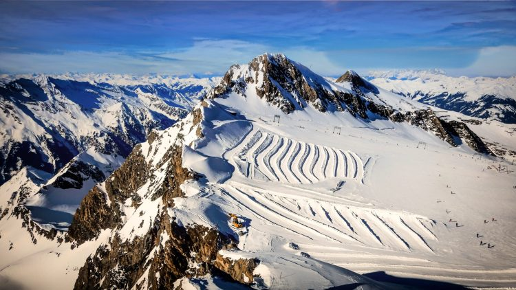 Kitzsteinhorn, best ski resorts in Austria