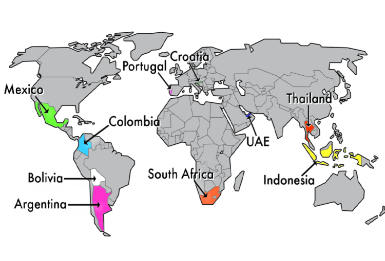 Warm Countries To Visit