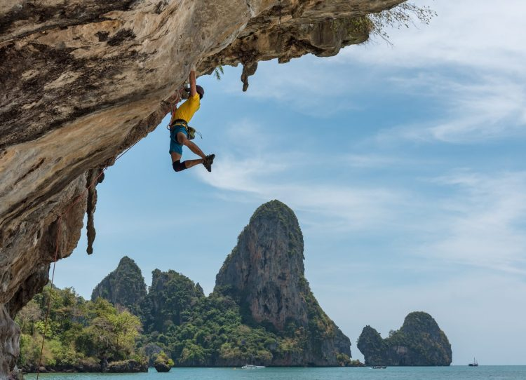 Rock Climbing on the Thai Islands
