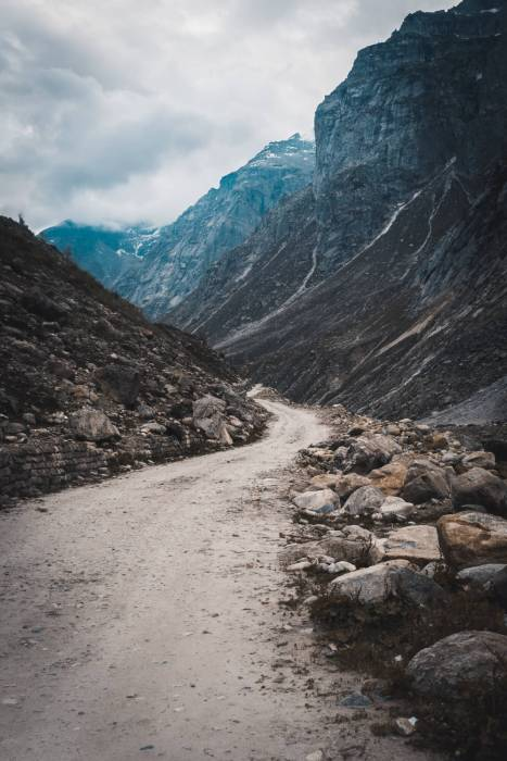 Spiti Valley, Marango Rangarik, India