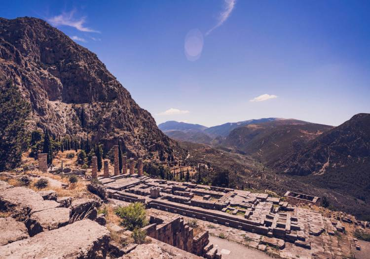 Day trip from Athens: Delphi, Greece
